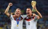 Podolski-Schweinsteiger: Một tình bạn đặc biệt trên sân cỏ!