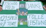 Thư tạm biệt đầy xúc động của Poldi viết gửi người hâm mộ