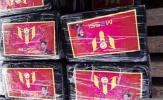 Hơn nửa tấn ma túy dán ảnh Messi bị bắt giữ