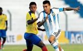 U20 Argentina hội quân chuẩn bị đấu U20 Việt Nam