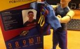 Món đồ chơi hình Messi khiến CĐV Real tức tối