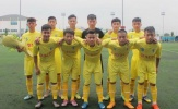 VFF loại U15 Hà Nội khỏi VCK U15 Quốc gia 2017