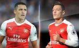 """""""Chiêu"""" mới để Arsenal giữ chân Sanchez và Oezil"""