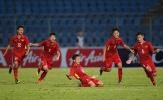 U15 Việt Nam ăn mừng cảm xúc khi ghi bàn vào lưới Australia