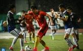 Campuchia gây bất ngờ khi hòa Trung Quốc tại vòng loại U23 châu Á
