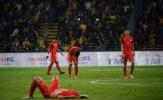 Cửa bán kết đóng sập, U22 Singapore đổ gục trên sân Shah Alam