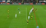 Aubameyang bị cướp mất bàn thắng trước Tottenham thế nào?