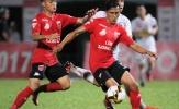 Vòng 18 V-League 2017: Long An dứt mạch thua, Top đầu rủ nhau cùng lùi