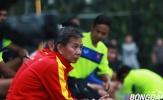 HLV Hoàng Anh Tuấn bàng hoàng với thất bại của U19 Việt Nam