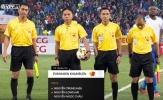 Trọng tài điều khiển trận CLB Hà Nội vs Quảng Nam bị bắt ở Thái Lan
