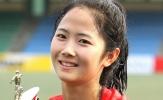 Vẻ đẹp hút hồn của cầu thủ nữ Hàn Quốc tham dự ASIAD