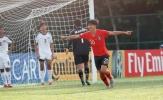 U16 châu Á: Xác định xong 4 cặp tứ kết, nhà vô địch bị loại