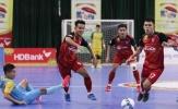 Lượt 12 giải futsal VĐQG - Phung phí cơ hội ghi bàn, Đà Nẵng và S*S Khánh Hòa chấp nhận chia điểm