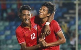 U18 Myanmar phả hơi nóng vào gáy Indonesia và Việt Nam