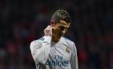 Thống kê đáng xấu hổ của Ronaldo tại La Liga