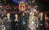 Quảng Nam FC nhận chiếc cúp thứ 2 tại Gala các giải bóng đá chuyên nghiệp QG năm 2017