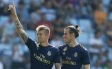 Đây, phản ứng của Hazard sau khi thấy Bale tỏa sáng ở trận khai màn