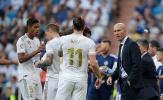Nóng máu vì để vuột mất hai điểm, Zidane chửi thề trong cuộc họp báo