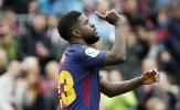 'Chuyên gia nằm cáng' trở lại, Barca khỏi lo vụ tẩy thẻ của Pique