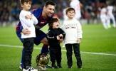 Cùng Mateo làm điều đặc biệt, Messi khiến fan Barca vô cùng phấn khích