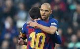 Được Messi 'ôm ấp', tân binh Barca tuyên bố một câu 'khó đỡ'