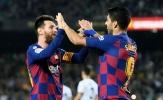 Messi chỉ trích thượng tầng Barca, Suarez lập tức hồi đáp