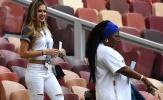 Bạn gái siêu HOT của Pogba nổi bật trên khán đài tại Nga
