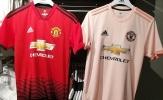 Áo đấu sân khách màu hồng của Man Utd bị rò rỉ