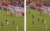 Rodriguez vẽ đường cong không thể tưởng tượng giúp Colombia đánh bại Mỹ