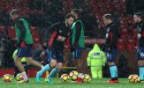 Mưa như trút nước trong khoảnh khắc Lukaku phá lưới Bournemouth