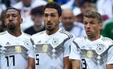 CHÍNH THỨC: Hummels, Boateng, Muller bị gạch tên khỏi tuyển Đức