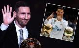 Messi: 'Tôi đau đớn khi Ronaldo nhận QBV thứ 5'