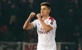 Tiền đạo Milan nói gì trước tin Zlatan có thể trở lại?