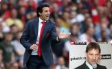 Huyền thoại Arsenal chỉ trích gay gắt Emery vì không tin dùng 2 cái tên