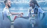 Tối qua, 2 Juventus vô địch nước Ý