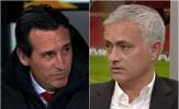 Xác nhận: Mourinho và Emery sẽ gặp mặt trực tiếp vào tuần sau
