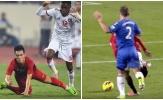 Vì sao cầu thủ UAE phải nhận thẻ đỏ khi phạm lỗi với Tiến Linh?