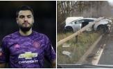 Sao Man Utd gặp tai nạn, 'nát bét' siêu xe Lamborghini bạc tỷ