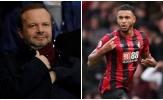 15 phút 'thượng đẳng' của Woodward khiến Man Utd mất toi hợp đồng 25 triệu bảng