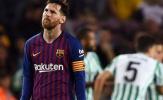 Điểm nhấn Barca 3-4 Betis: Messi cô đơn, hàng tiền vệ đáng xấu hổ