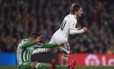 Điểm nhấn Betis 1-2 Real: 'Quả bóng vàng' đã có giá trị, Real không đáng mặt ông lớn