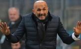 Spalletti: 'Inter thua vì quá nhút nhát!'