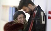 Pique - Shakira diện đồ đôi như 'vợ chồng son'