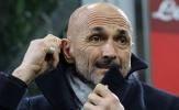 Spalletti: 'Nếu sợ hãi, Inter sẽ không làm được gì cả'