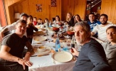 Không lên tuyển, Messi hội tụ đại gia đình