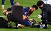 Messi nằm sân sau pha va chạm với Koulibaly, Setien nói gì?