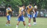 Hà Nội FC miệt mài tập luyện, quyết tâm đánh bại Ceres Negros