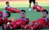 U20 Việt Nam vã mồ hôi trong buổi tập đầu tiên ở Nha Trang