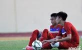 U20 Việt Nam: Trọng Đại, Trần Thành ngồi ngoài buổi tập