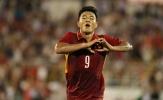 """Đức Chinh """"thả tim"""" khi ghi bàn vào lưới U20 Argentina"""